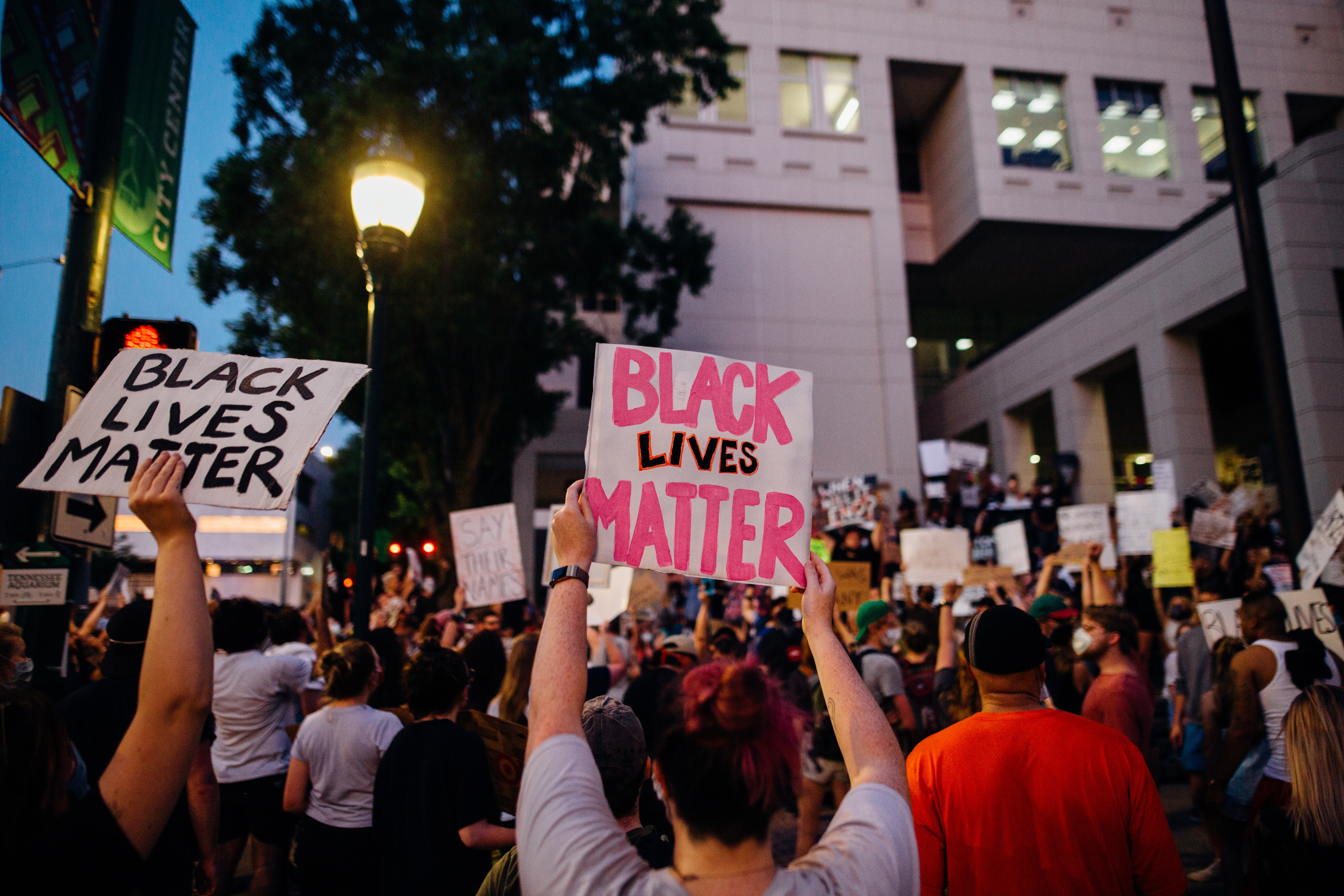 Photo by Kelly Lacy from Pexels - BLM Protesters